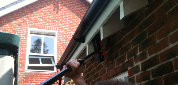 Guttering, Fascia and Soffit Cleaning Service in Sevenoaks Kent